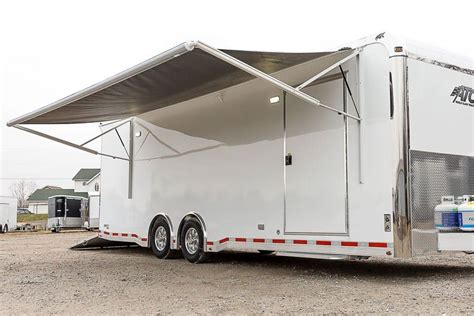 atc car hauler bumper pull race trailers mo great dane trailers