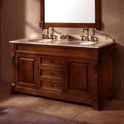 60 Inch Cherry Vanity 60 Inch Brookfield Traditional Sink Bathroom Vanity