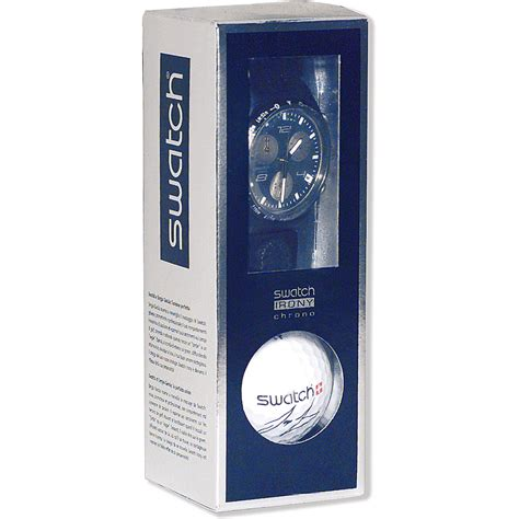Swatch Free Box swatch ycn4000agsppack silver color box sergio