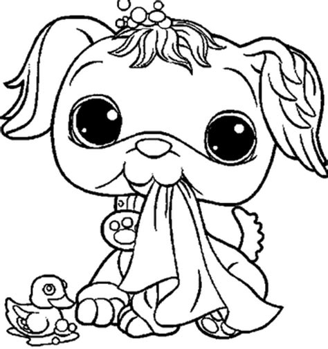 coloring pages of littlest pet shop dogs littlest pet shop coloring pages to print