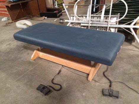 used electric tables for sale used oakworks table beds electric un venta la