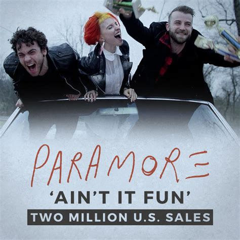ain t it fun paramore paramore s ain t it fun certified double platinum