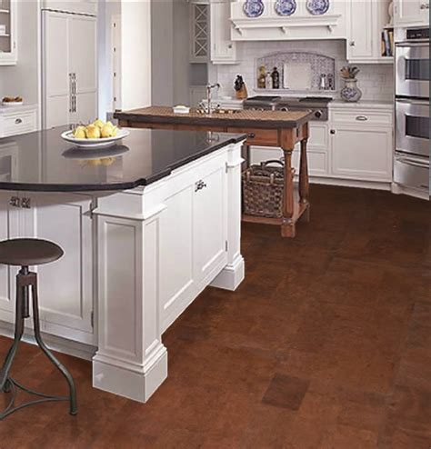 cork floor kitchen 4 best kid friendly kitchen flooring options