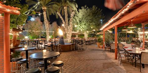 top 5 patio dining in the scottsdale area town