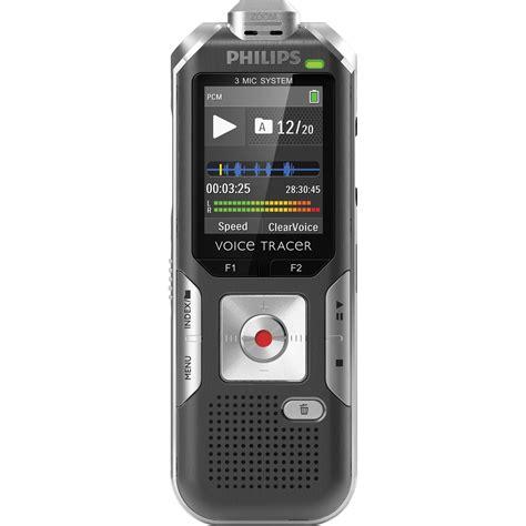 Audio Rekaman Philips Dvt 1150 4gb Free Microsd 16 Gb philips dvt6000 voice tracer digital recorder dvt6000 00 b h