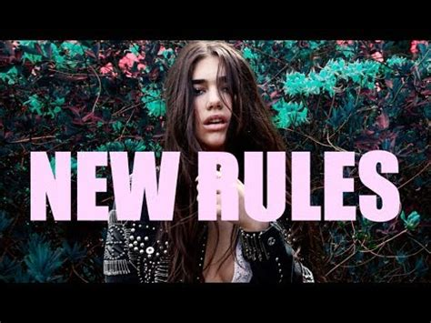 new rules lyrics dua lipa new rules lyrics youtube