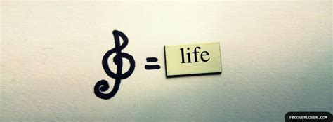 fb life life timeline cover with quote life is a song sing it