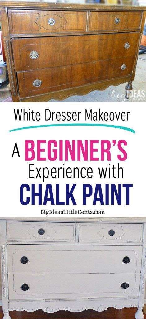 chalk paint on plastic chalk paint a beginner s experience