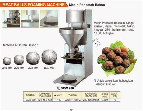Jual Panci Bakso Murah jual mesin pencetak bakso harga murah medan oleh forsindo jaya equipment