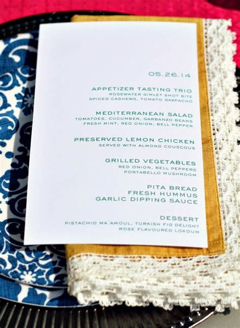 moroccan menu for a dinner pin by natalie xanthakis on entertaining