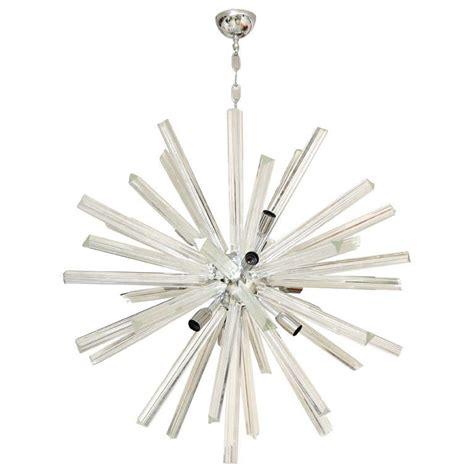 Starburst Chandelier Italian Murano Glass Sputnik Or Starburst Chandelier At 1stdibs