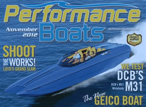 performance boats magazine go fast boating media isn t done