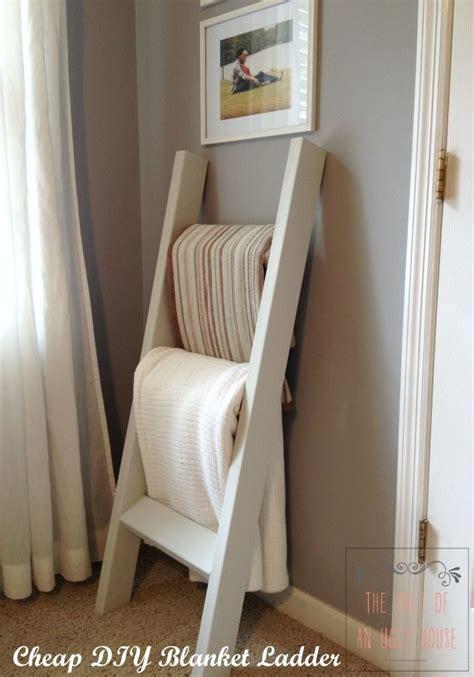 blanket ladder diy for flat pinterest cheap diy blanket ladder august 13 2014 cheap diy blanket