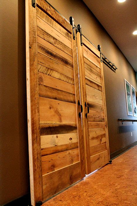 Reclaimed Wood Barn Door Slab Reclaimed Lumber Products Recycled Barn Doors
