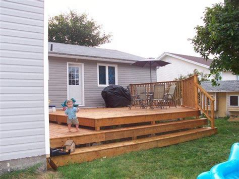 simple backyard decks 17 best images about back yard ideas on pinterest