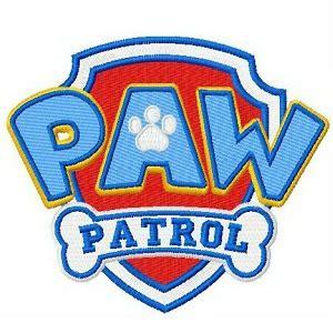 Paw Patrol Iron On Patch Paw Patrol Logo Template