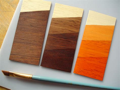 using glass paints as wood varnish davidneat