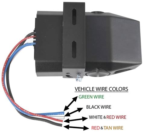 how to wire brake controller to wires dash that are