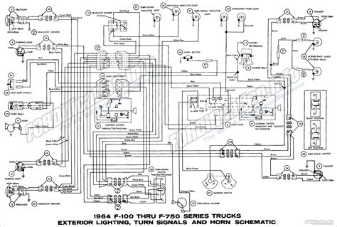 2005 ford f750 wiring diagram wiring diagram for free 1964 ford truck wiring diagrams fordification info the 61 66 ford resource