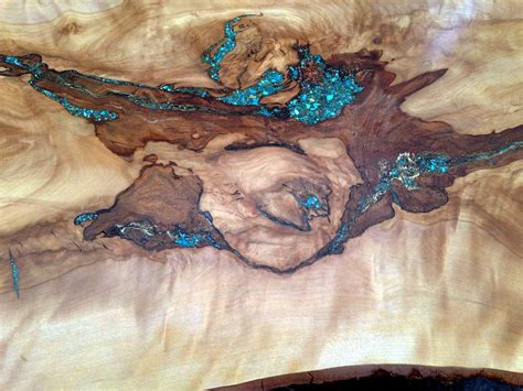Turquoise Inlay Table by Turquoise Inlay Console Table Rustic Artistry