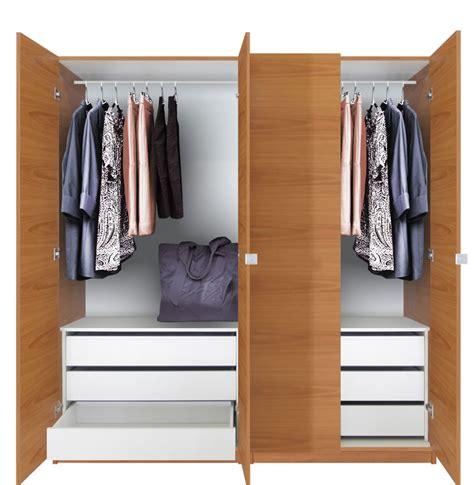 Wardrobe Package Deals by Alta Wardrobe Closet Package 6 Drawer Wardrobe Package