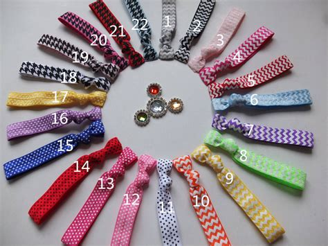 foe foe hair bands 5 8 printed foe hair ties hair band elastic hairbands