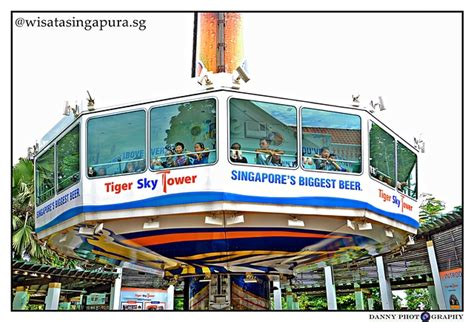 E Tiket Sentosa Merlion Tower Dewasa Anak tiger sky tower wisata singapura