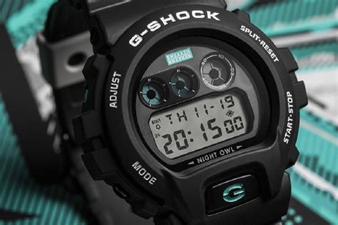 G Shock Dw 5604 own the with the sneaker freaker x casio g shock dw 6900 quot nightowl quot freshness mag