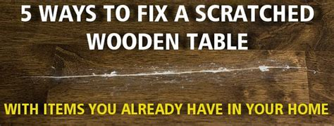 wood table scratch repair how to fix a scratched wood table us2