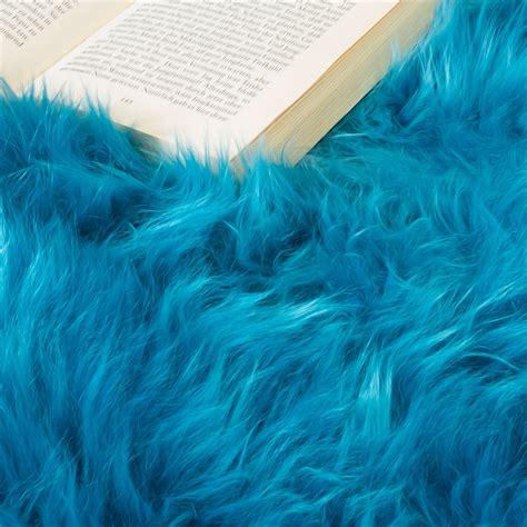 bettvorleger blau australisches lammfell naturfell bettvorleger echtes