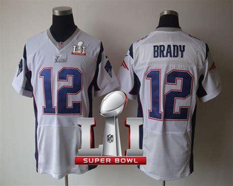 nike new patriots 12 tom brady white bowl