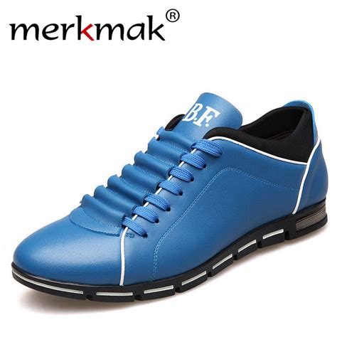big shoes for merkmak big size 38 48 casual shoes fashion leather