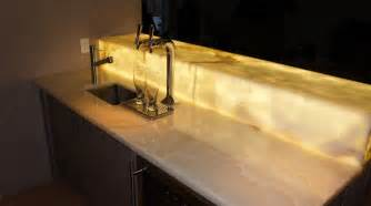 Onyx Vanity Tops by Stunning Onyx Bar Top Backlight Onyx Bar For The Home