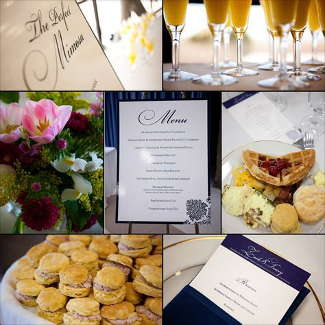Wedding Details: Morning Food and Decor Ideas