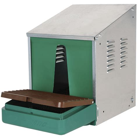 tattoo kit in elkaar zetten nest o matic galvanized nest box with roll out tray