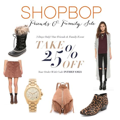 Shopbop Is A Sale by Shopbop Friends And Family Sale 2015 Mcbride