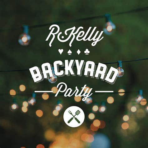Descargar R Kelly Backyard Party