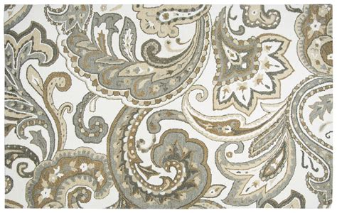 Paisley Area Rug Suffolk Paisley Wool Area Rug In Beige 5 X 8