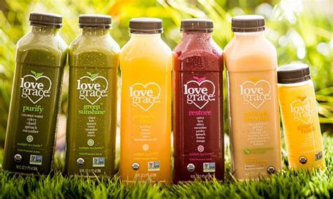 5 Days Detox Juice Organic by Organic Juice Cleanse Grace Groupon