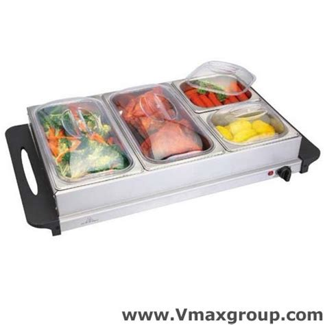 buffet trays warmer sale offer 4 tray stainless steel