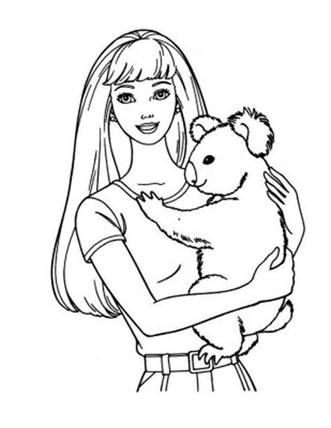barbie coloring pages ballerina coloringstar