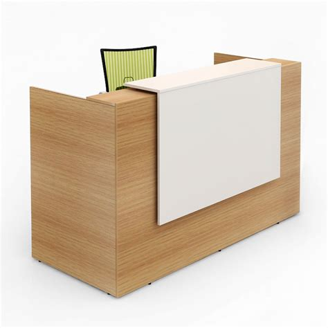 Office Reception Desk Furniture Rosalie Beech Reception Desk Value Office Furniture