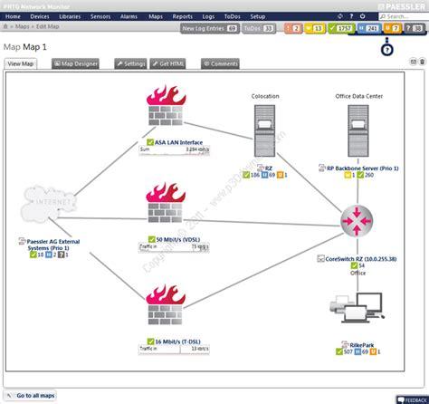 دانلود Prtg Network Monitor V17 3 32 2339 نرم افزار مدیریت و نظارت ب Prtg Map Templates