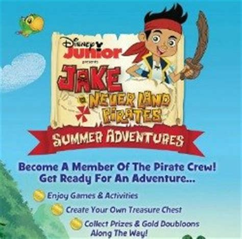 june activities yo ho let jake and the neverland summer adventure