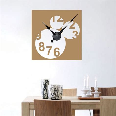 trendy wall design 17 best images about clock wall decals on pinterest