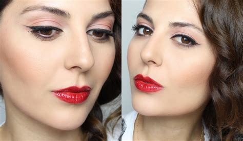 makeup tutorial creating the classic natural eye classic makeup tutorial cat eye red lips sona