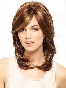 medium length hair color shoulder length haircuts for 2017 haircuts and
