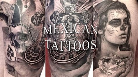 mexican art tattoos mexican tattoos