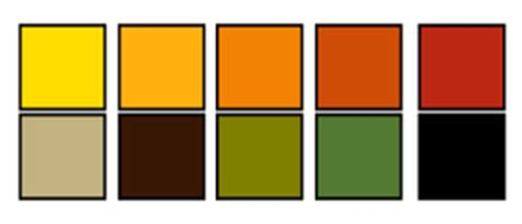 earth tone color wheel patio decorating ideas color schemes