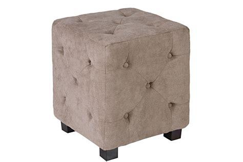 tufted cube ottoman duncan small tufted tan cube ottoman